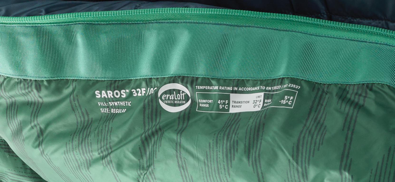 MSR sleeping bag 32 degree