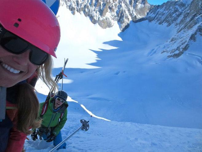 Selfie in Chamonix