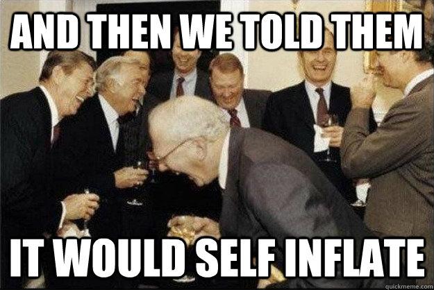 self-inflate meme