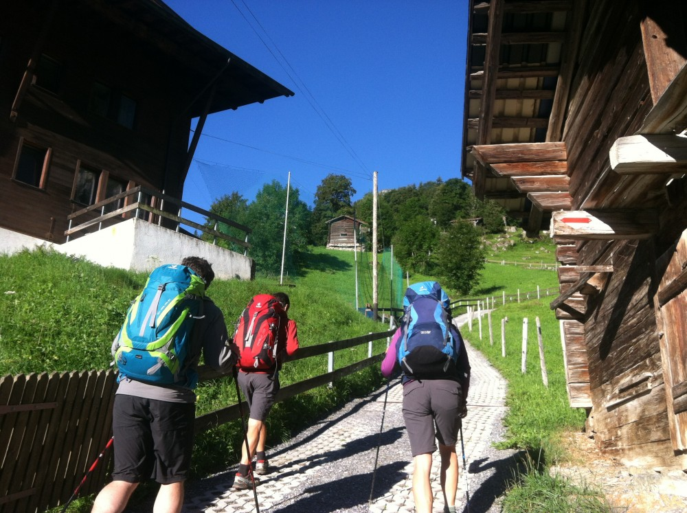 Swiss Backpacking 1