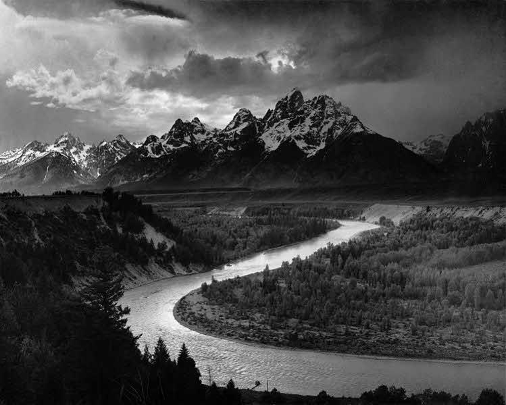 Snake River in the Tetons – by Ansel Adams