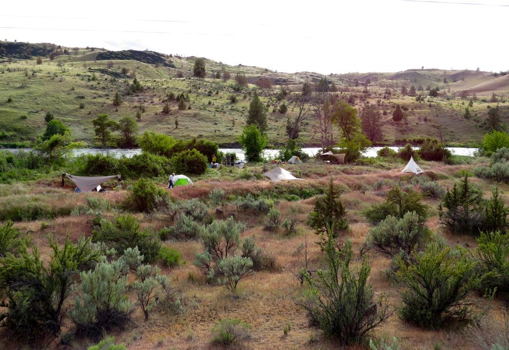 """Camp"" on the Deschutes River – Central Oregon"
