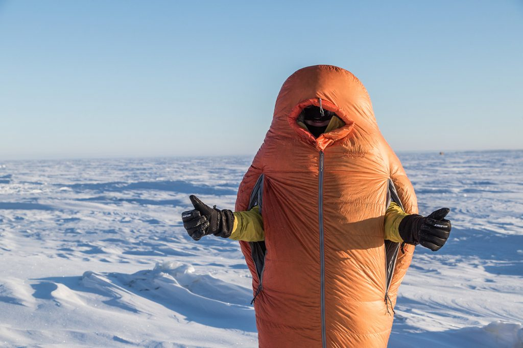 polar expedition sleeping bag