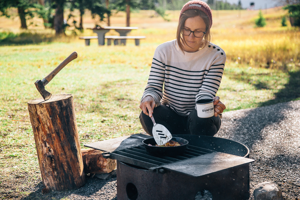 comfort food recipes for camping