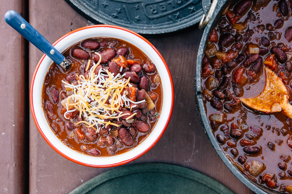 five can chili comfort food recipes for camping