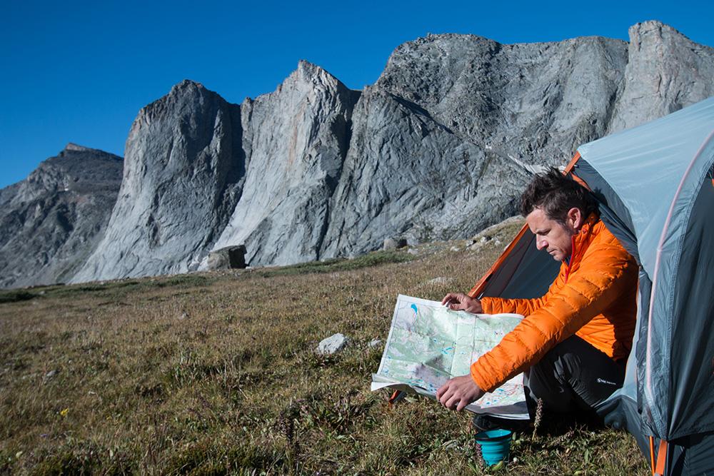 navigating one-night backpacking trip