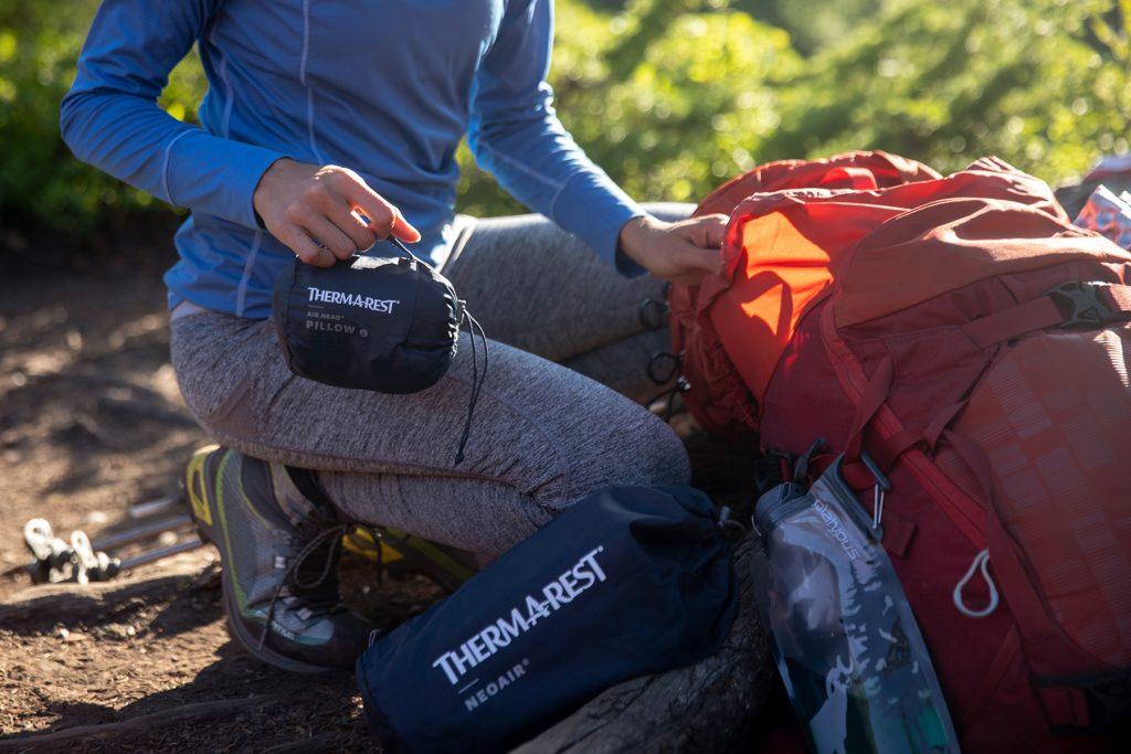 packing lightweight hiking gear