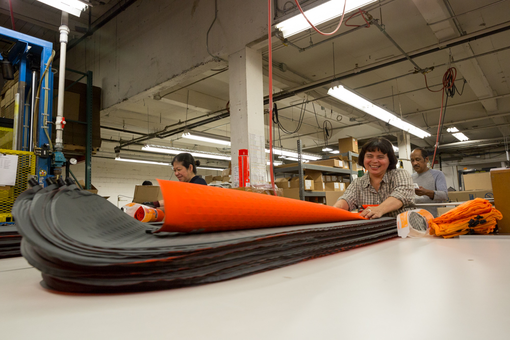 constructing thermarest sleeping pads