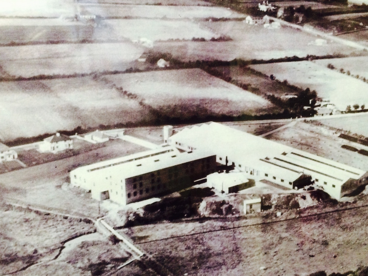 The original wool factory in 1940.