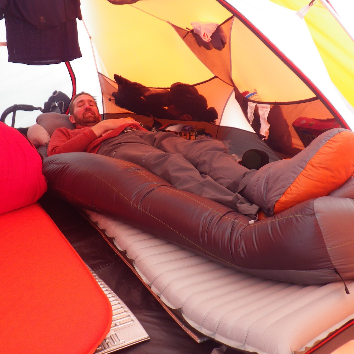 Mountaineering includes a lot more tent time than you think.