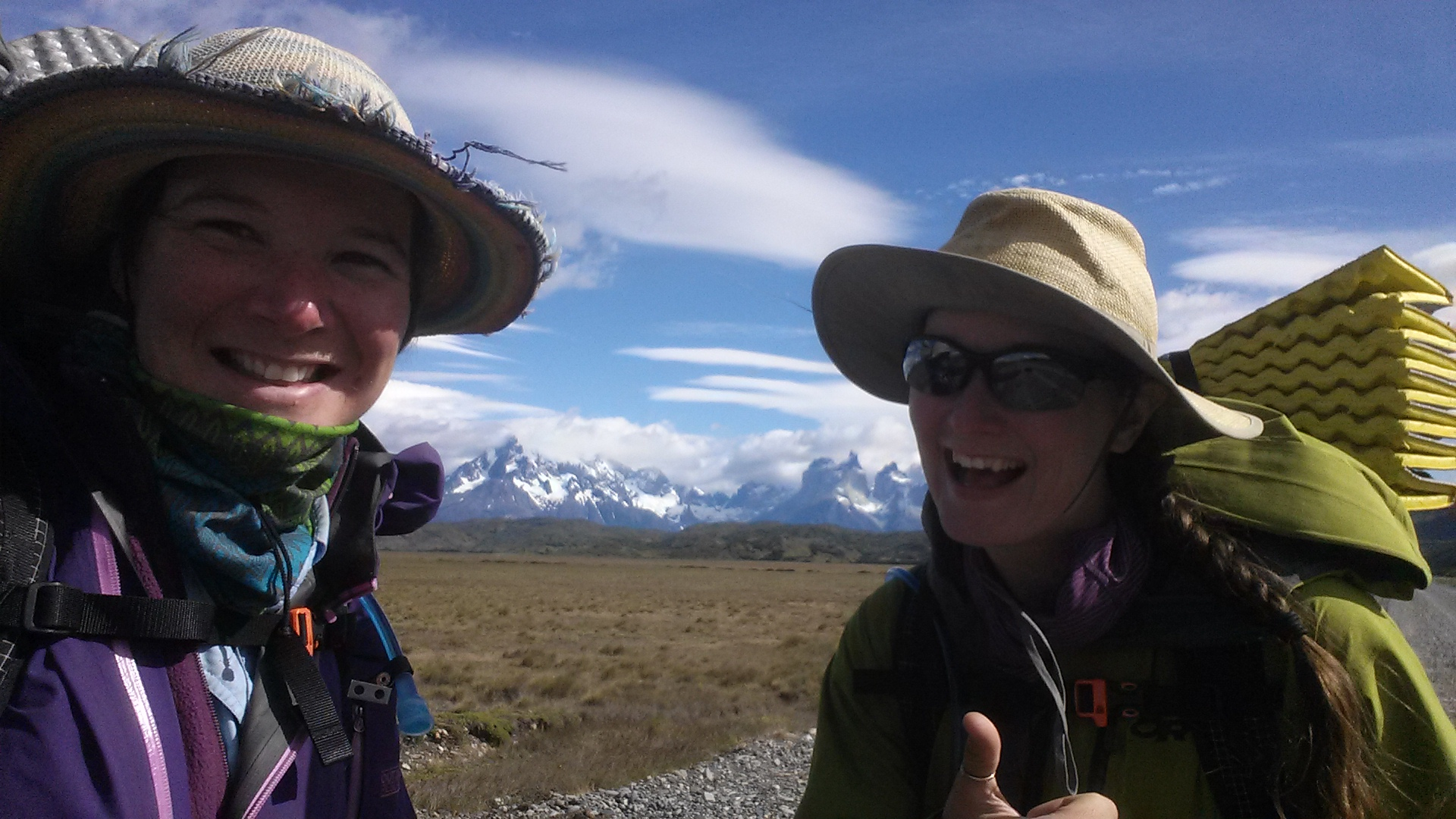 Us and Torres del Paine