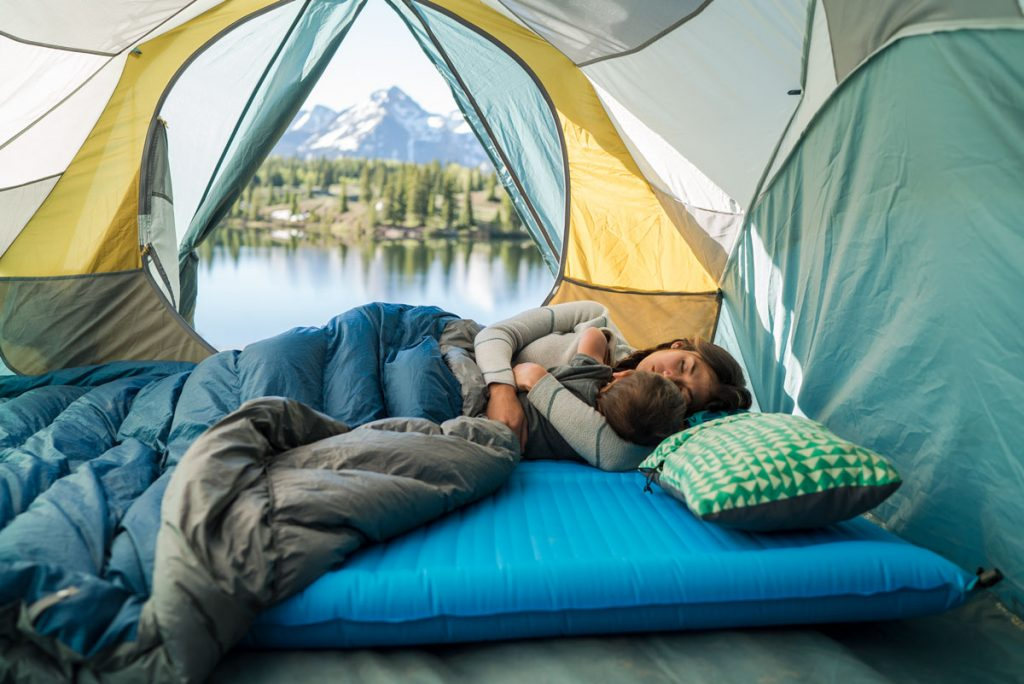 camper duo sleeping pad. sleeping pad for two