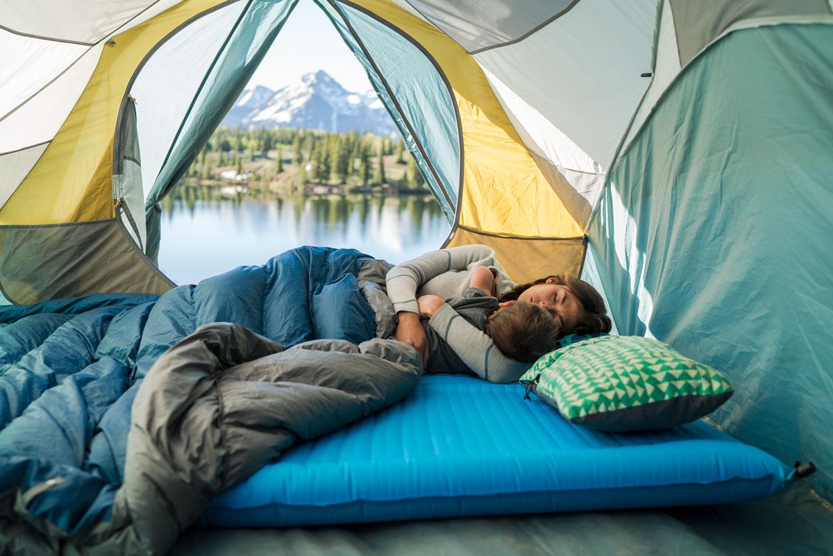 camper duo sleeping pad. sleeping pad for two