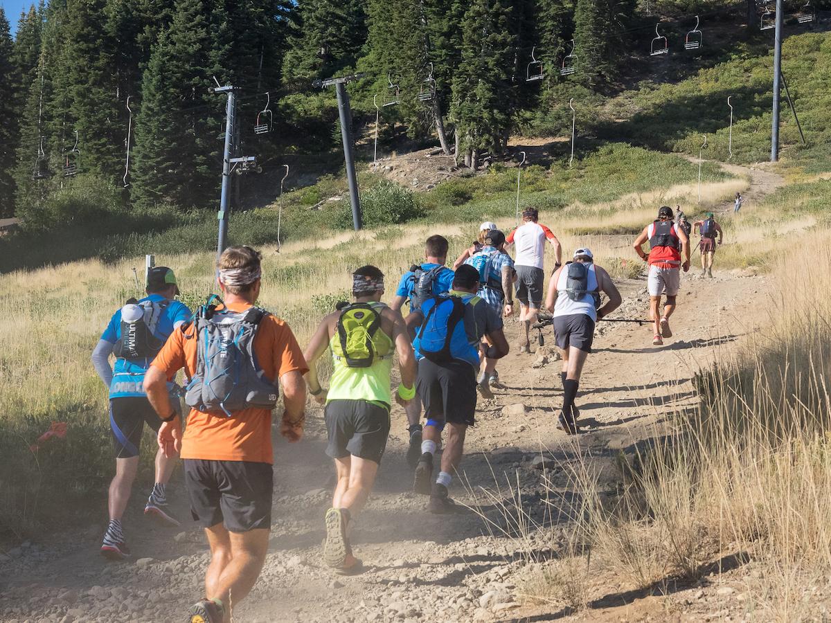 Crewing for an Ultramarathon