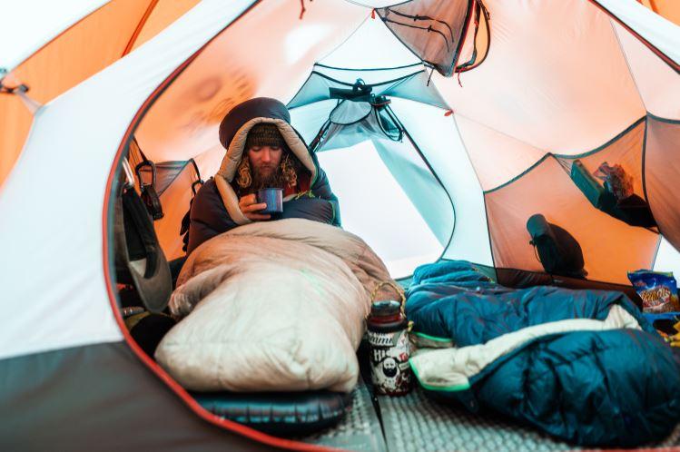 Winter Sleep System | Camping Quilt | Winter Sleeping Bag