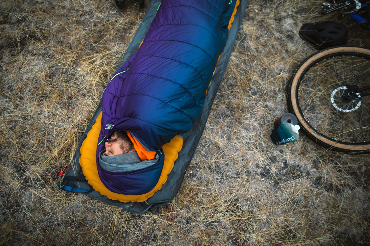 zoned insulation on sleeping bags