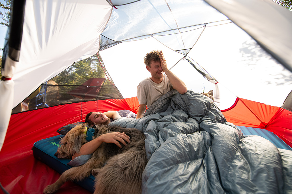 two person camp quilt