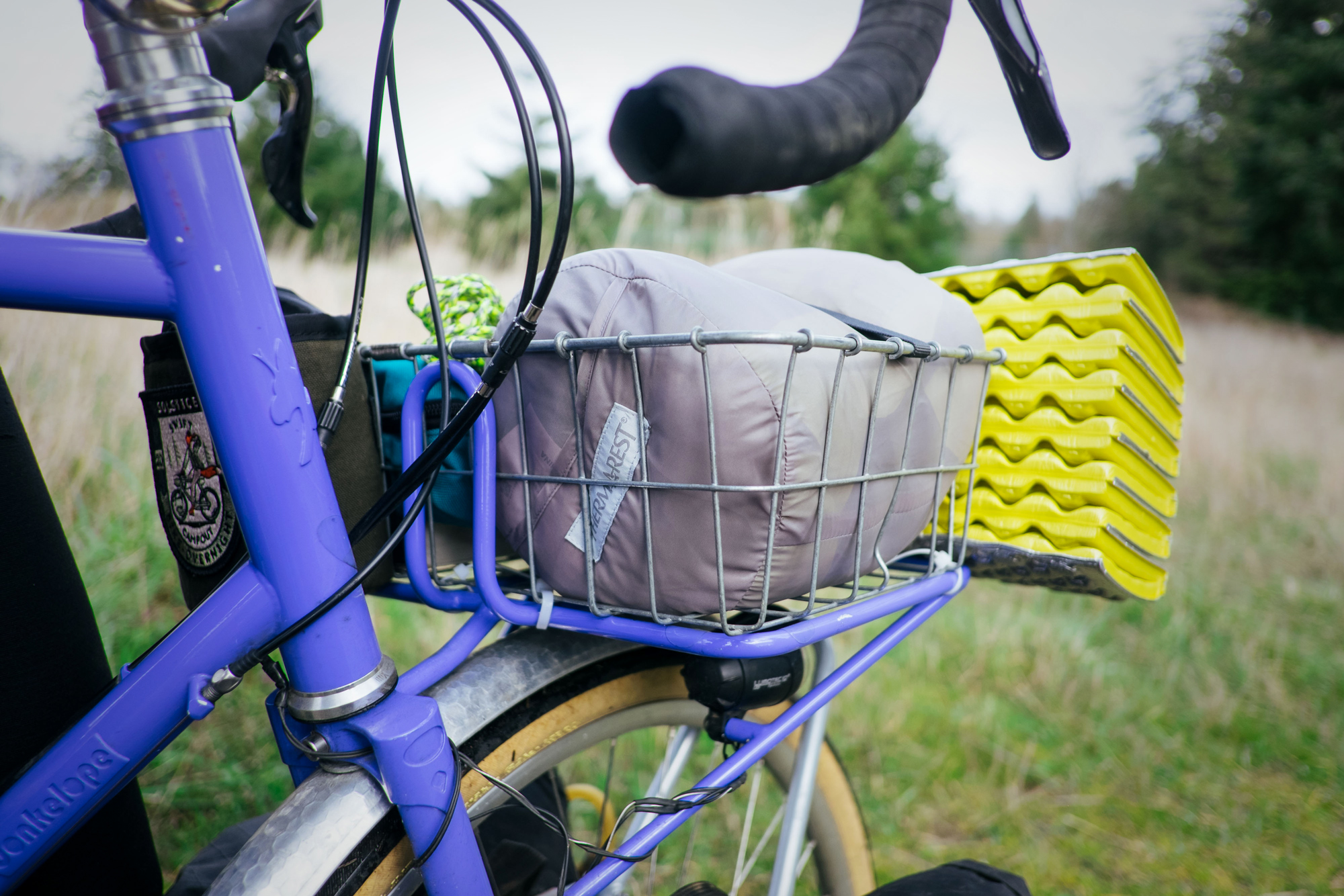 Bike-Camping with Thermarest Sleep System