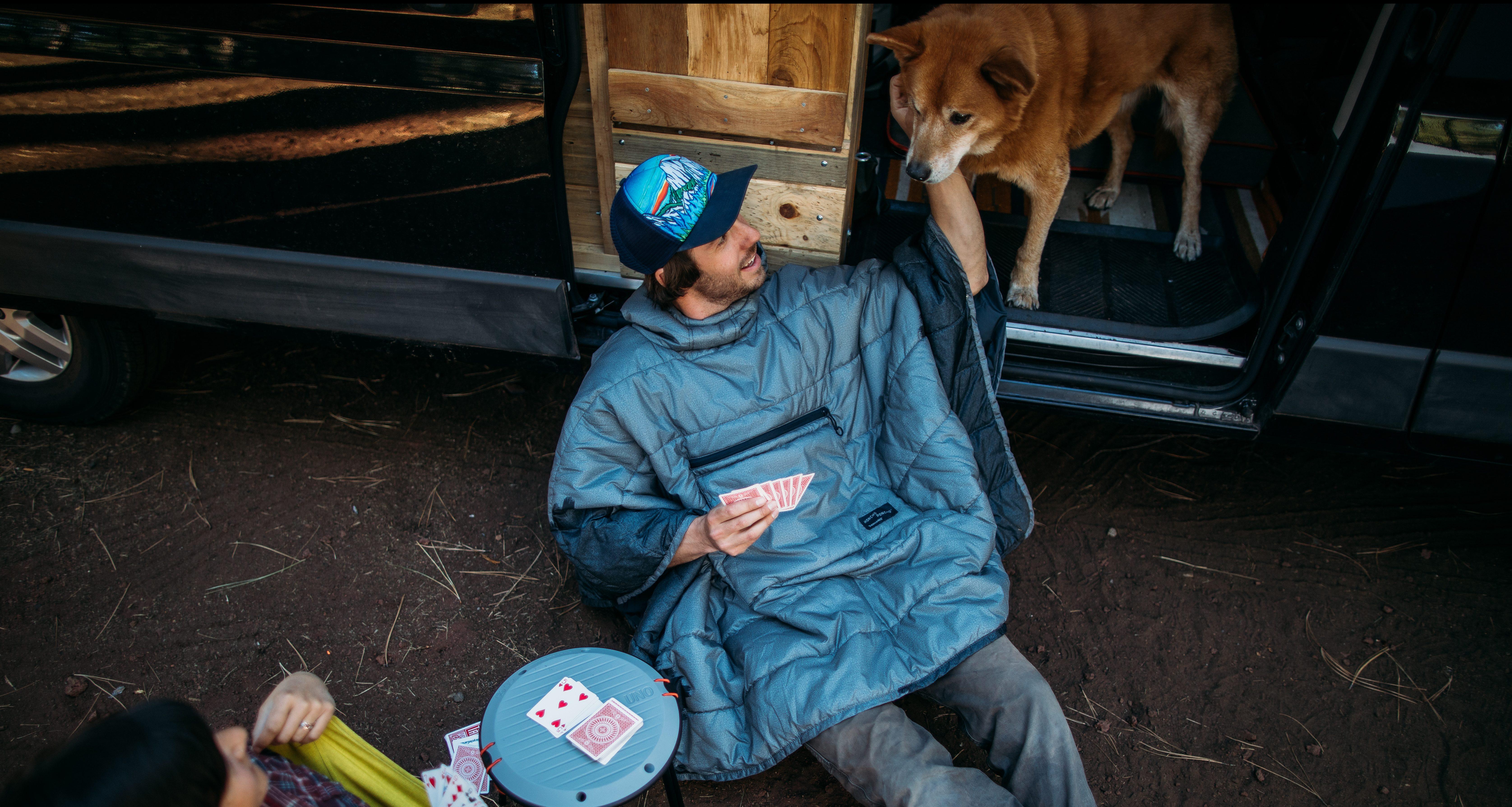 Car Camping Poncho