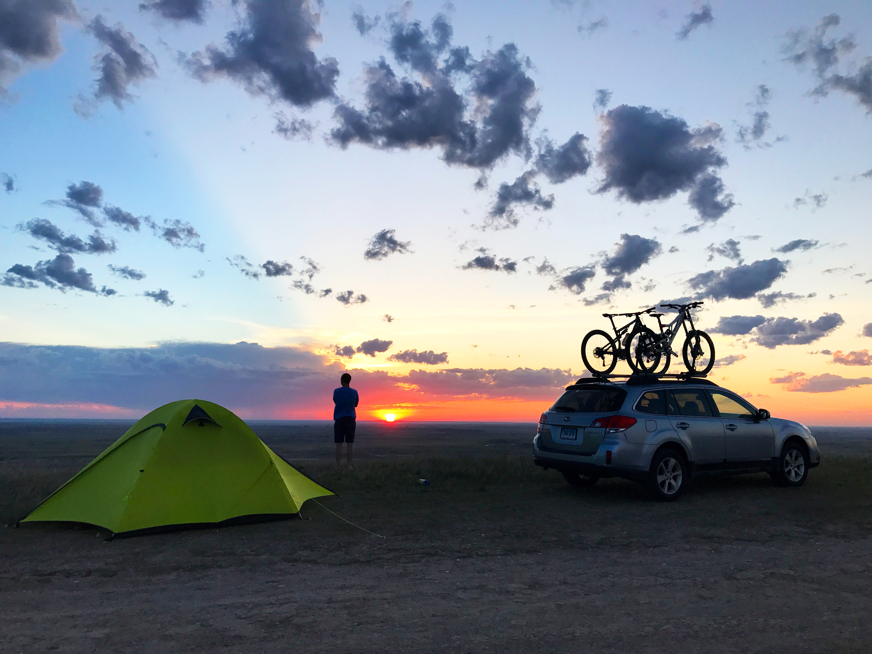 Badlands National Park Car Camping