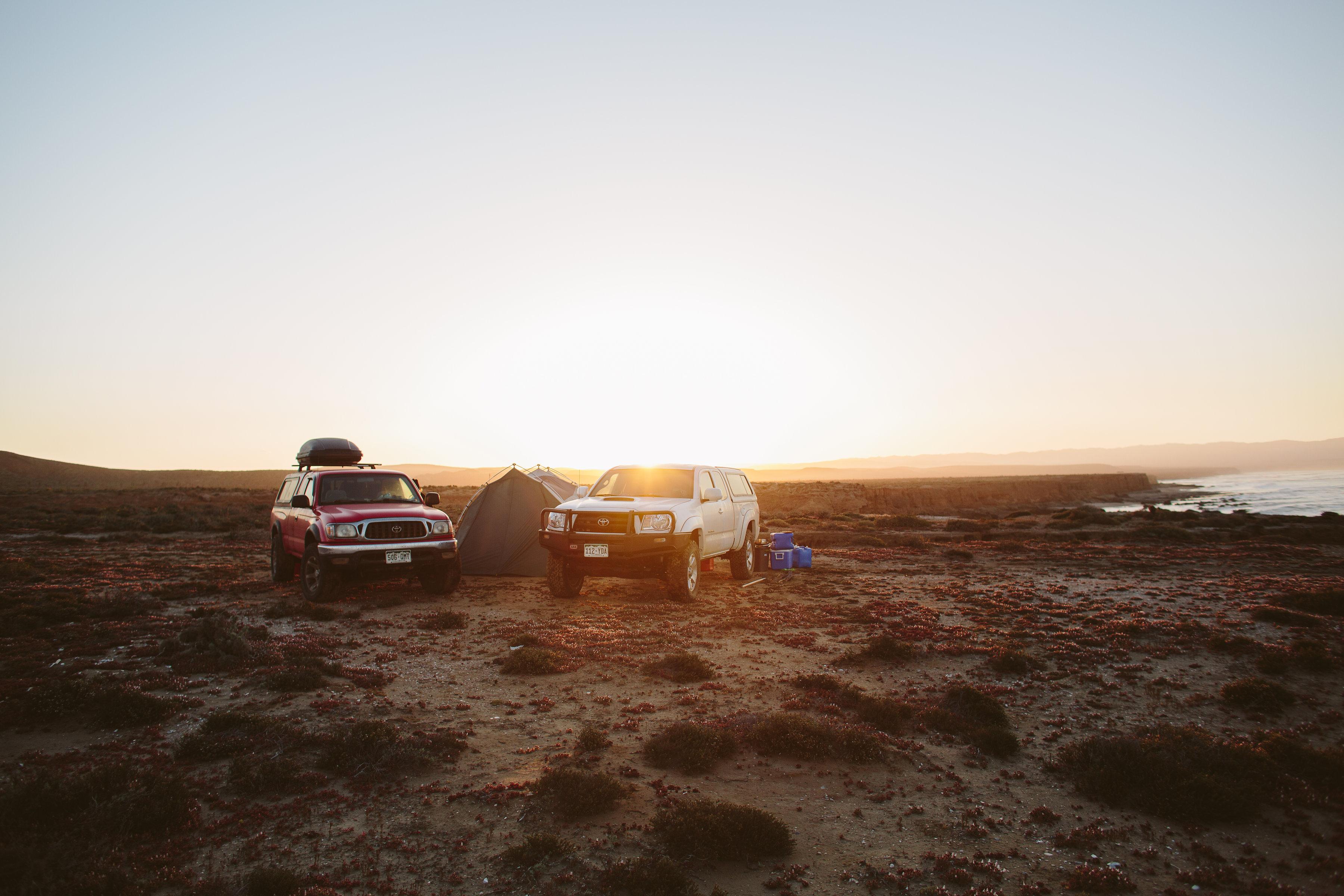 weekend car camping adventures