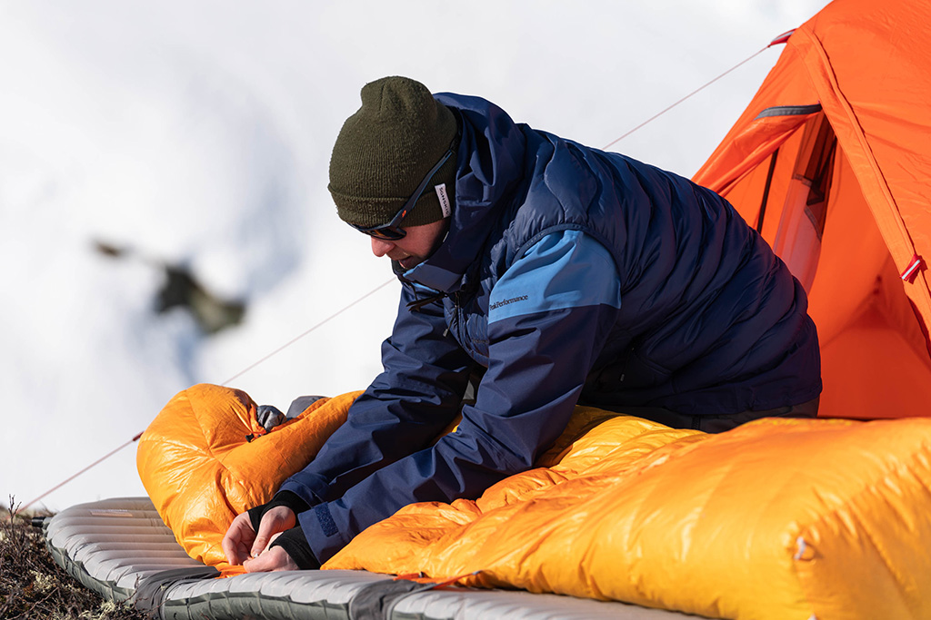 cold weather sleeping pad
