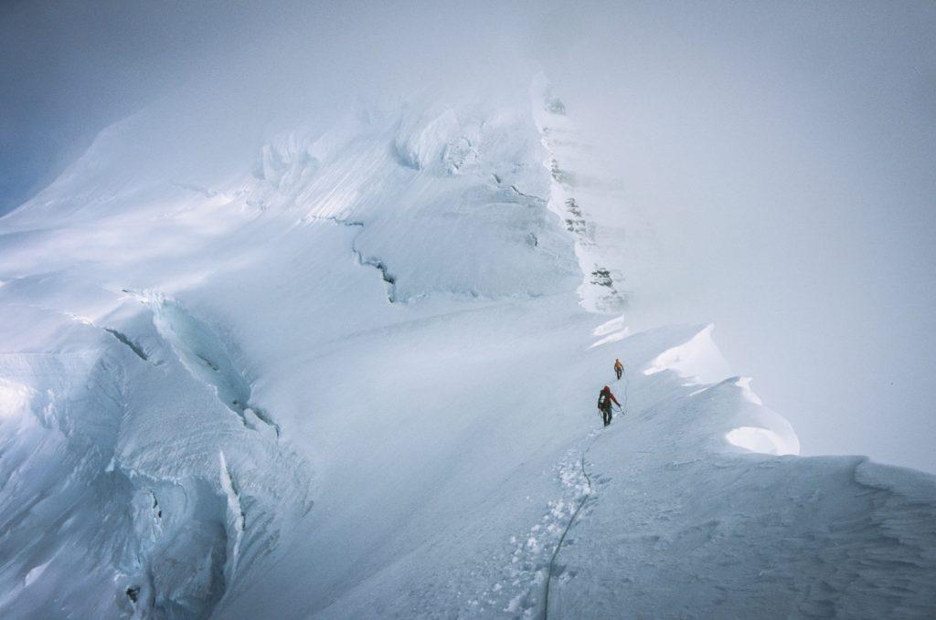 climbing peaks on pan american trail