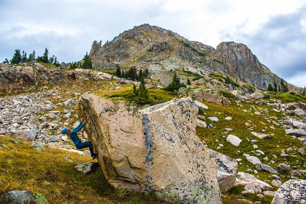 Climbing in the Alpine