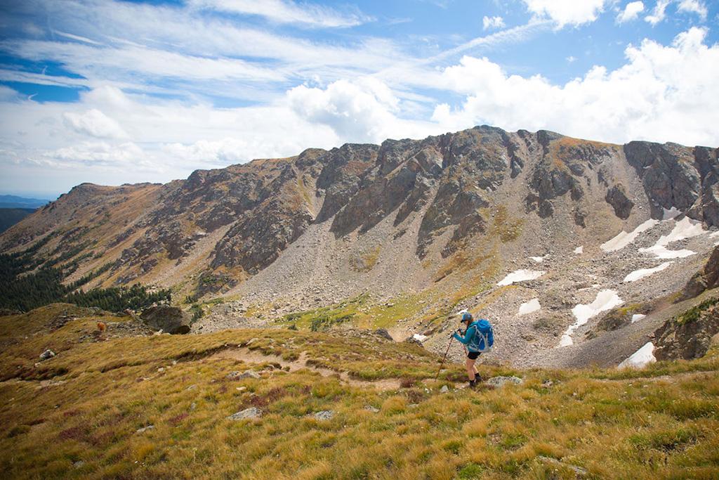 hiking the alpine