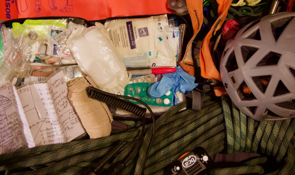 First-Aid-gear