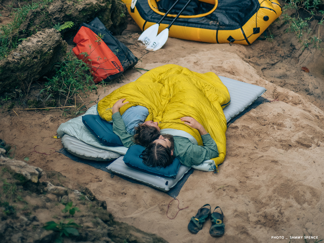 Ultralight Sleeping Bag | Hoodless Sleeping Bag | Ohm Sleeping Bag