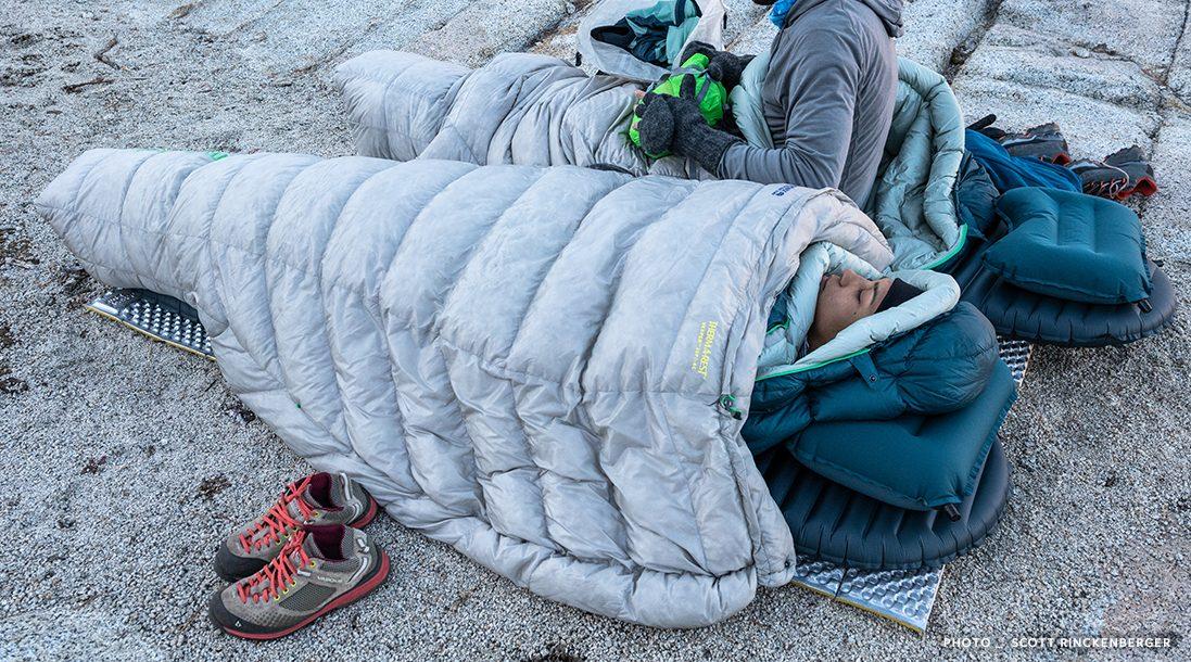 Backpacking Quilt | Ultralight Backpacking Quilt | Vesper Backpacking Quilt