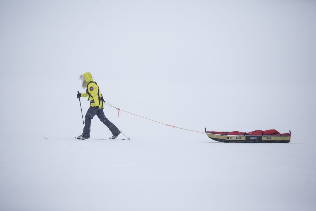 Eric Larsen South Pole expedition