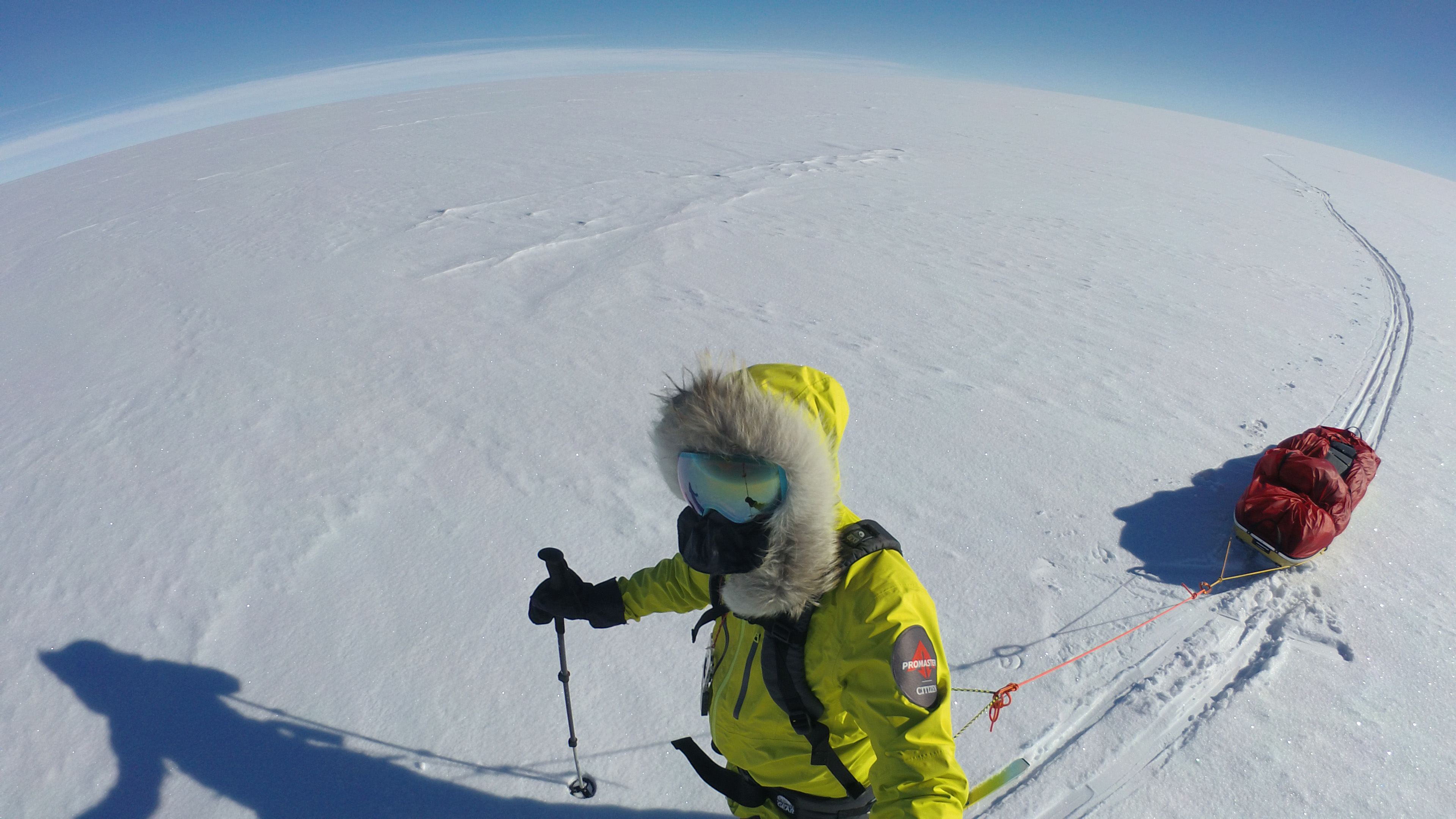 Eric Larsen | FKT south pole | Arctic adventure