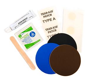 permanent sleeping pad repair kit