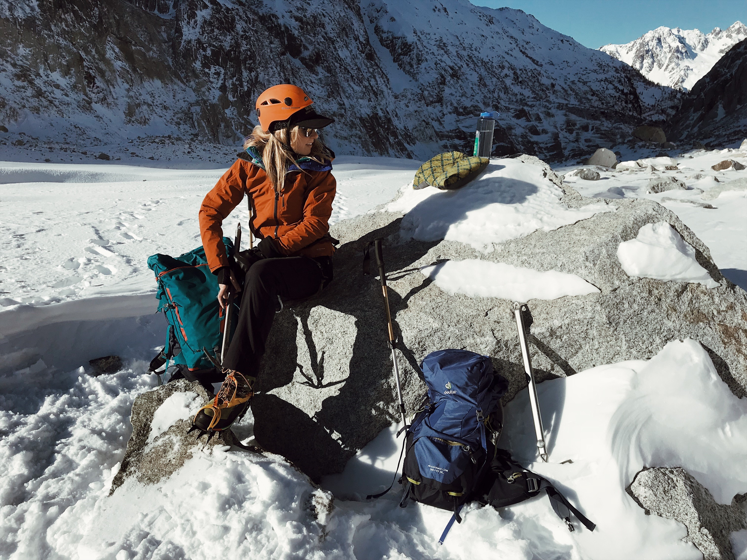 Tips for mountaineering
