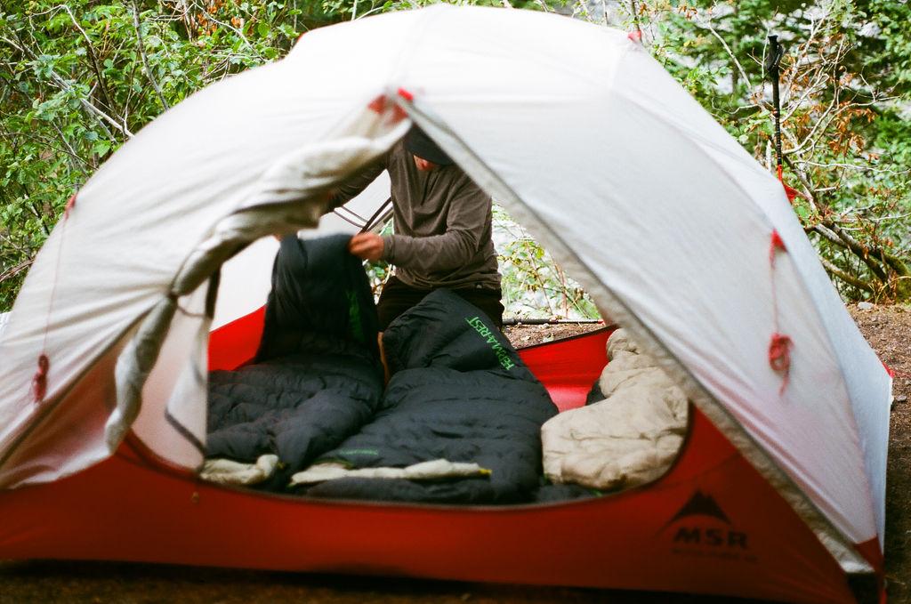 Ultralight sleep system for ultralight backpacking