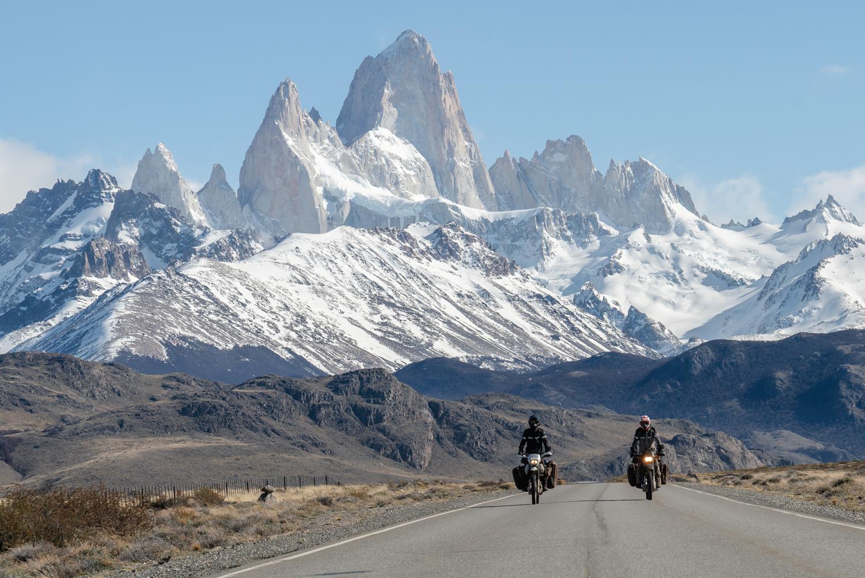 Entering Patagonia