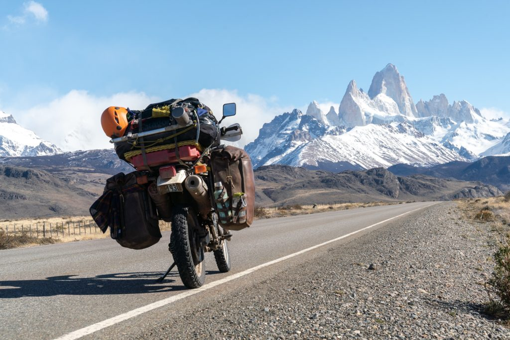 The Pan American Trail via motorcycle