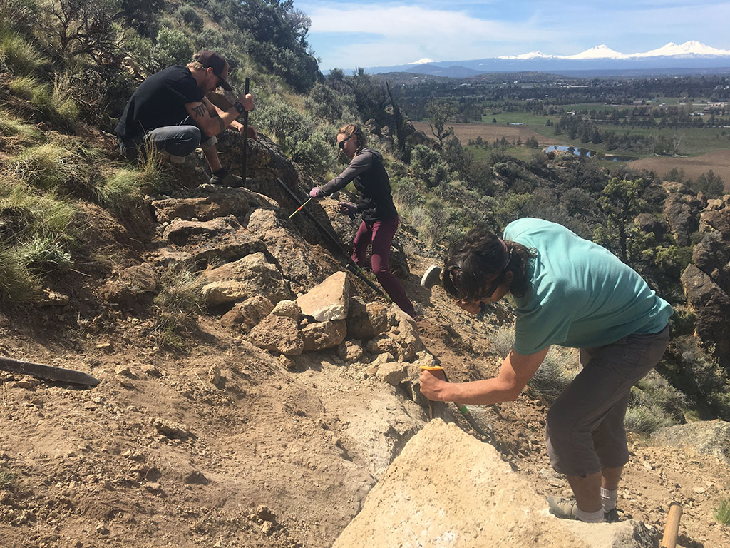 Trail Work on National Trails Day