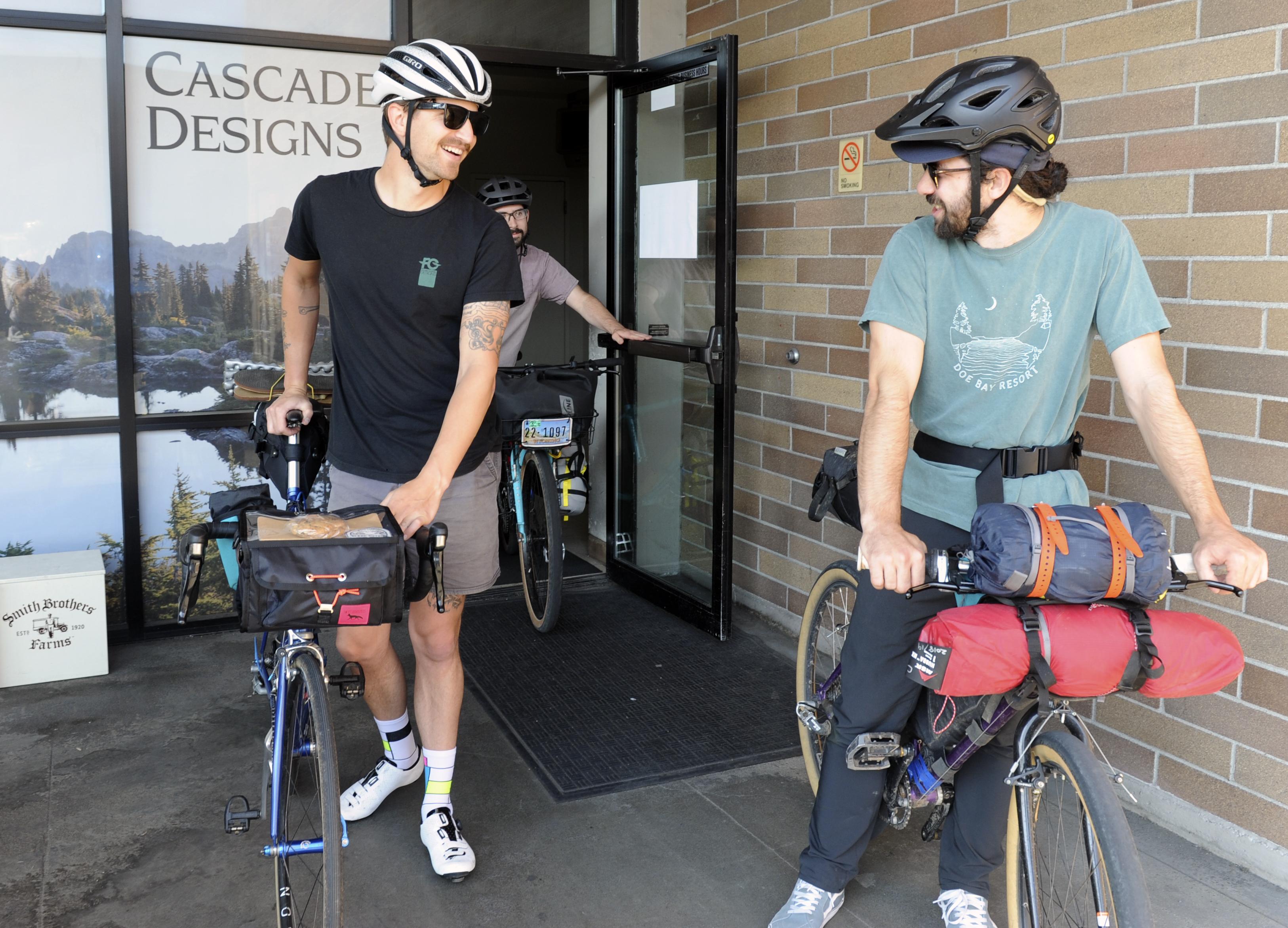 Bike camping microadvanture