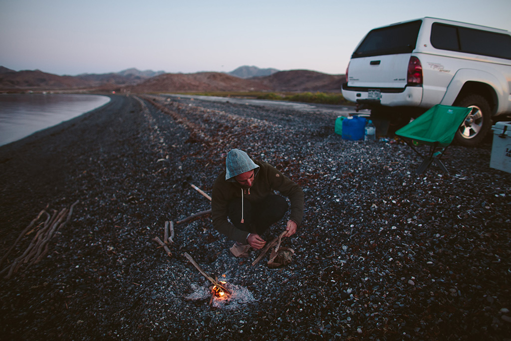pick campsite for car camping