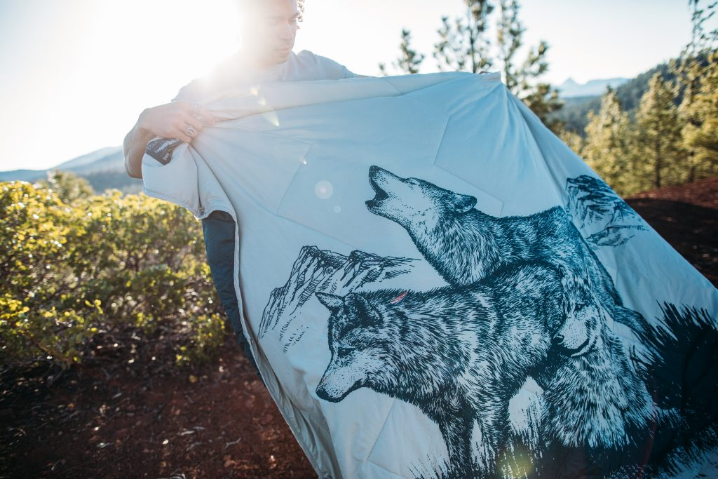camping blanket