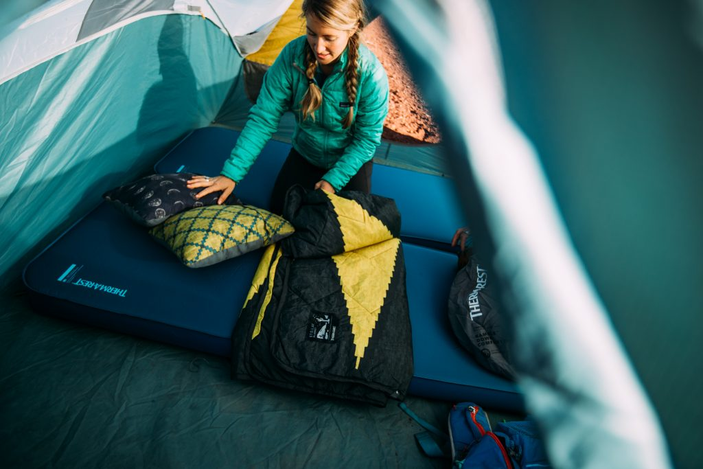 camping mattress sleep system