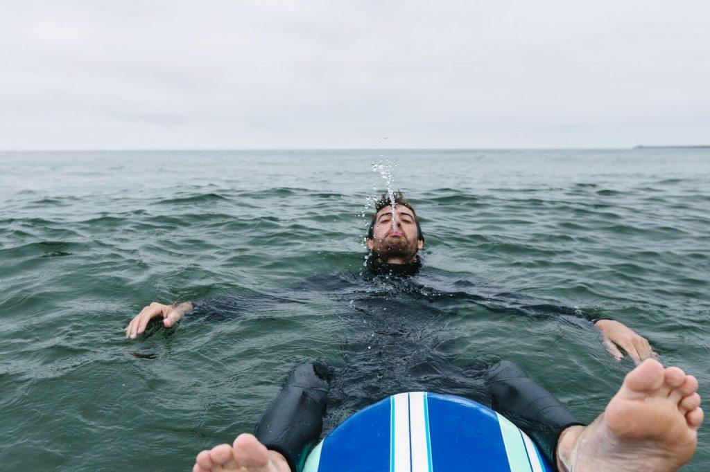fun hogging on a surf trip