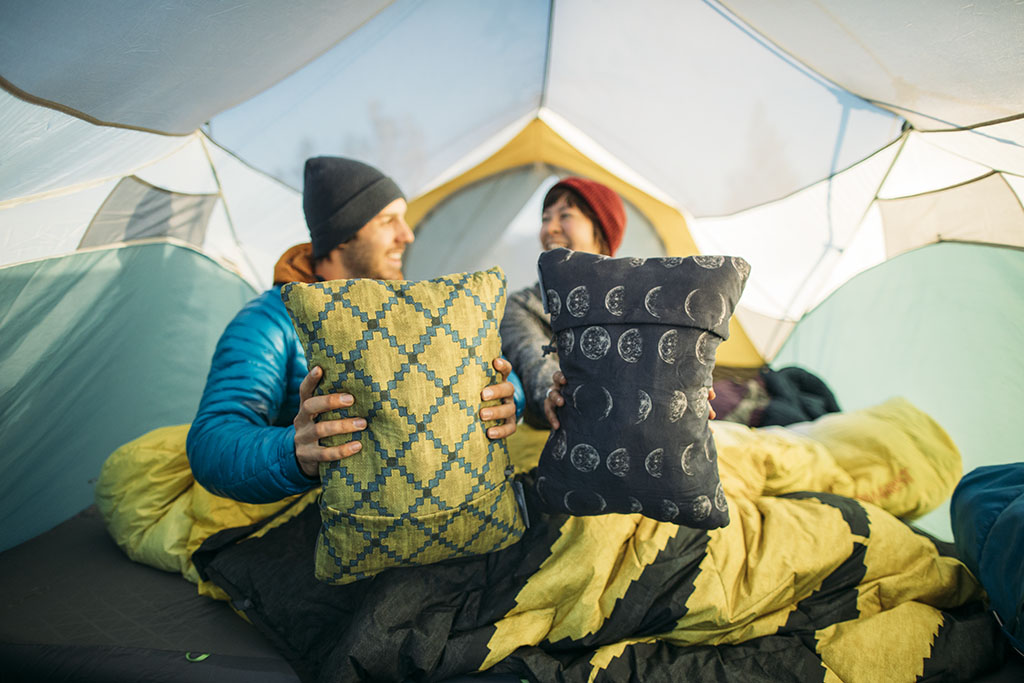 compressible pillow for backpacking