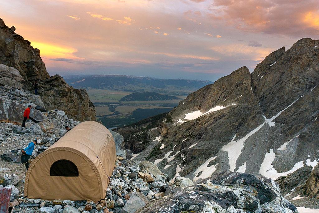 Mountaineers basecamp