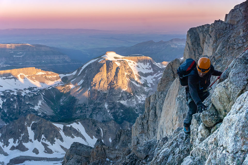 rock climbing mountains