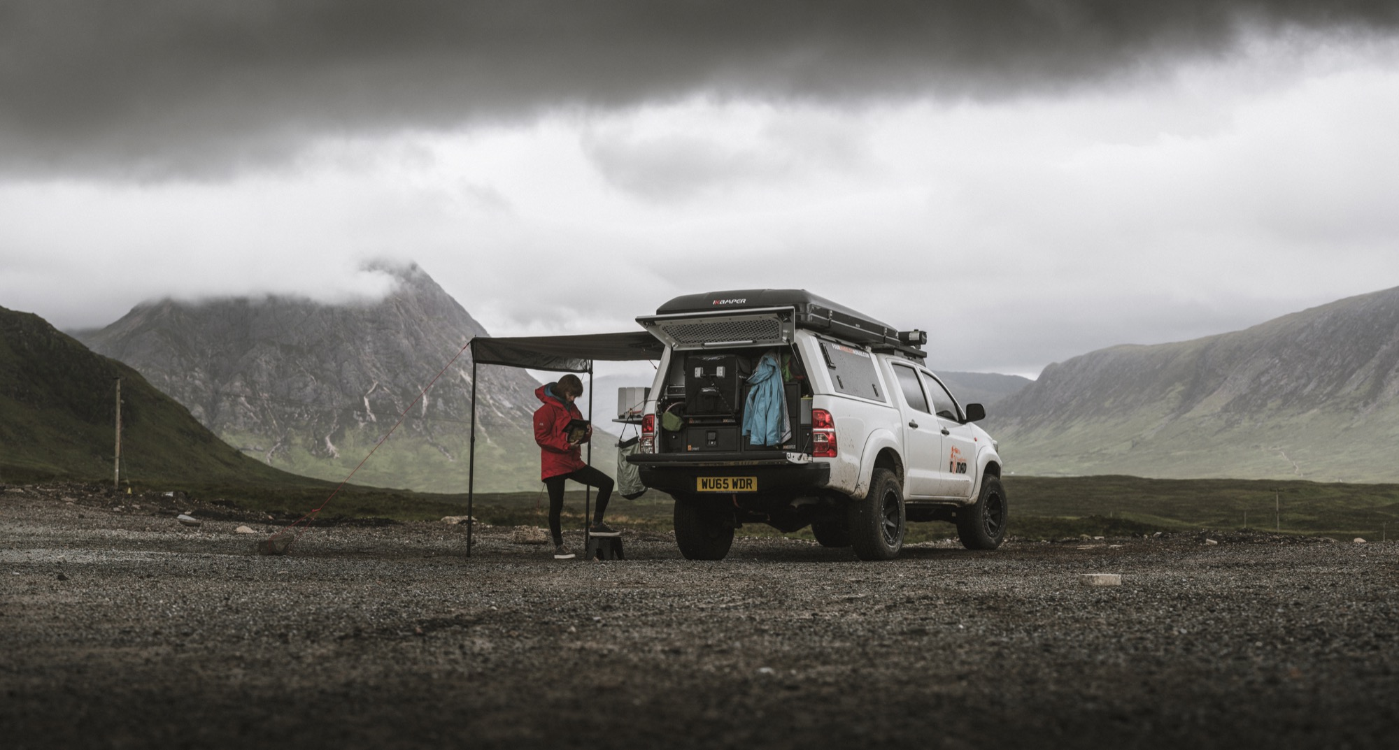 Camping in the 2015 Hilux
