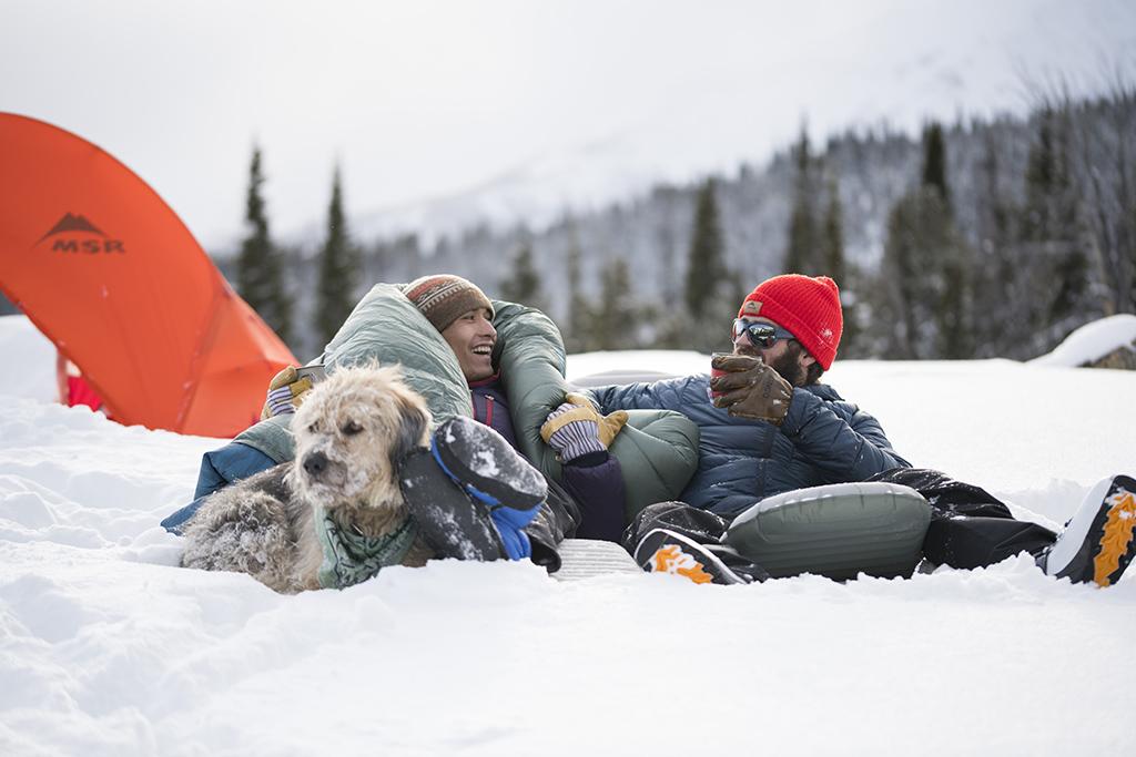 fun camping cold